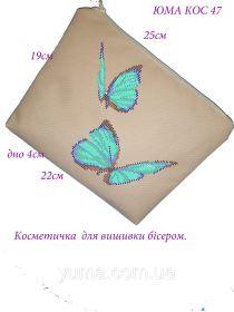 ЮМА ЮМА-КОС-47 Косметичка заготовка для вышивки бисером купить оптом в магазине Золотая Игла - вышивка бисером