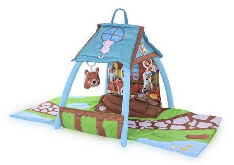 """Развивающий игровой коврик """"Маленький домик"""" Lorelli toys"""