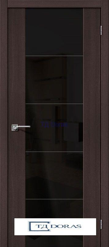 Межкомнатная дверь с Экошпоном V4 BS Wenge Veralinga Black Star