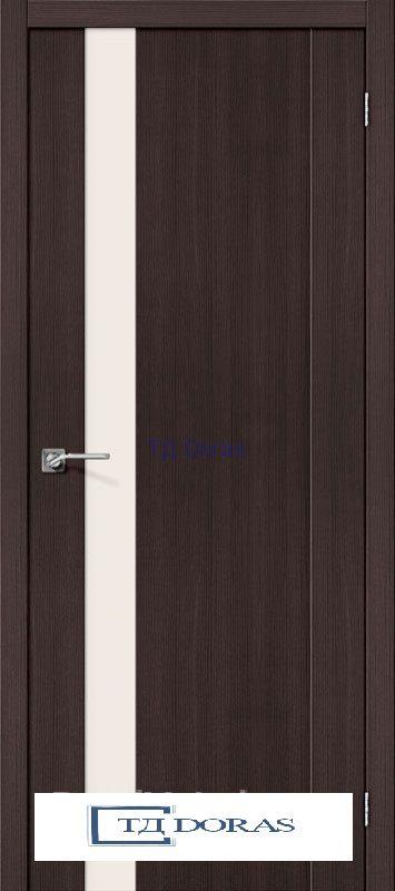 Межкомнатная дверь с экошпоном Порта-11 Wenge Veralinga