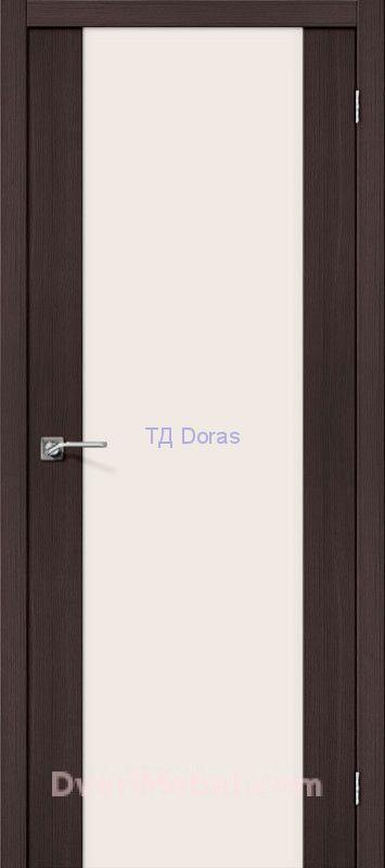 Межкомнатная дверь с экошпоном Порта-13 Wenge Veralinga