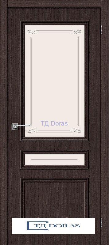 Межкомнатная дверь с экошпоном Симпл-15.2 Wenge Veralinga
