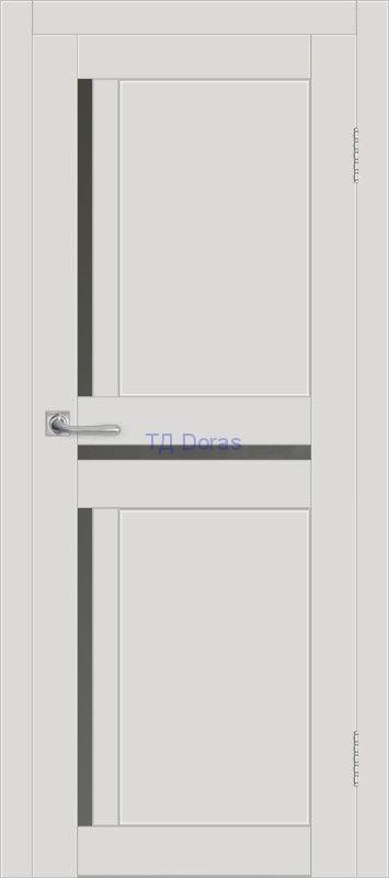 Межкомнатная дверь ДП DIM I-5.1 Smoky Matt Сатинато Графит