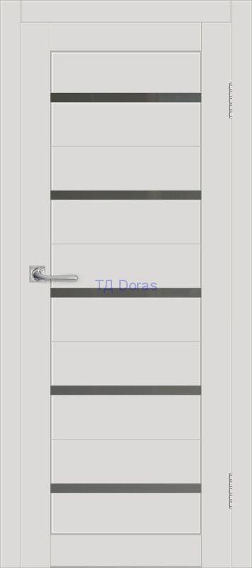 Межкомнатная дверь ДП DIM I-1 Smoky Matt Сатинато Графит