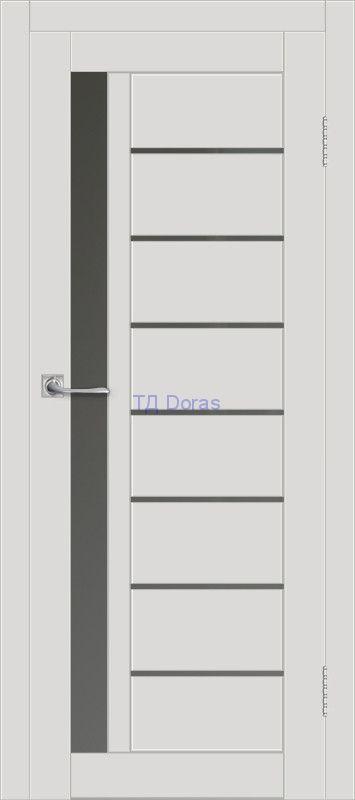 Межкомнатная дверь ДП DIM I-2 Smoky Matt Сатинато Графит