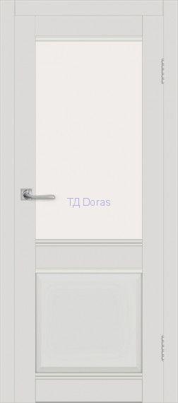 Межкомнатная дверь ДП DIM I-11 Smoky Matt Сатинато Белый