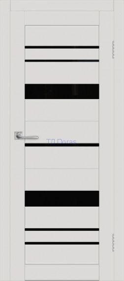 Межкомнатная дверь ДП DIM I-16 Smoky Matt Lacobel Black