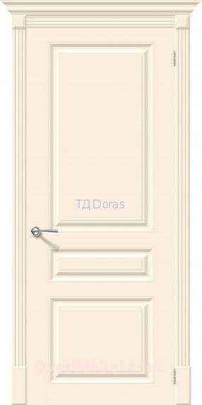 Межкомнатная окрашенная дверь эмаль Скинни-14 Cream