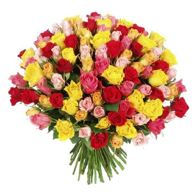 АКЦИЯ! 101 кенийская роза микс