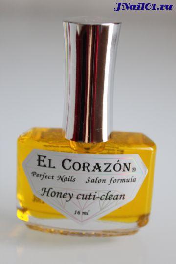 El Corazon Honey cuti-clean (Масло с мёдом и прополисом) №419, 16 мл