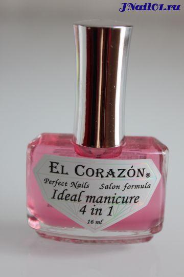El Corazon Ideal manicure 4 in 1 (Восстановитель с хитозаном и комплексом защитных факторов) №427, 16 мл