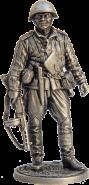 Старший сержант пехоты Красной армии, 1943-45 гг. СССР (олово)