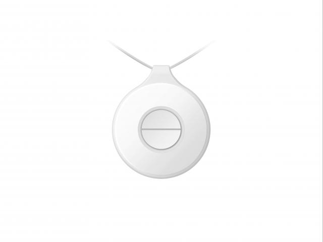 Беспроводная портативная тревожная кнопка (2 кнопки) DS-PDEBP2-EG2-WE AX PRO