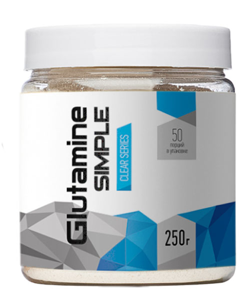 Glutamine Simple R-line 250 г (50 порций)