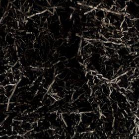 Наполнитель для коробок Бумажный Чёрный, 100г