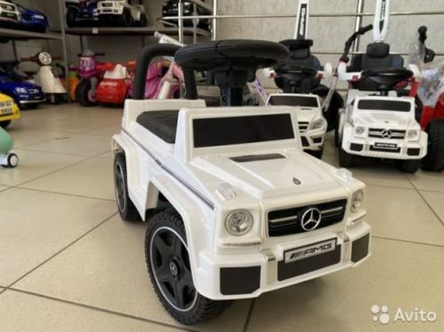 Толокар Mercedes G63 VIP кожаное сидение