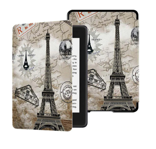 Обложка на Kindle Paperwhite 2018 ( рисунок / Париж )