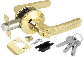 Ручка защелка Punto (Пунто) 6026 PB-E (кл./фик.) золото ID товара: 36835