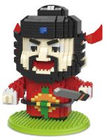 Конструктор Wisehawk & LNO Повелитель демонов Чжун Куй 923 детали NO. 2609 The Lord of demons Zhong Kui Myths of China Series