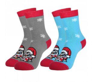 Детские махровые носки С5061 Пингвин