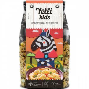ДП Гарнир YELLI Kids 90г Макарошки Лимпопо с овощами