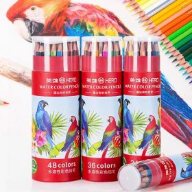 Акварельные карандаши Hero  набор 24 цвета