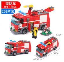 Конструктор Пожарная машина Lego реплика 206 деталь