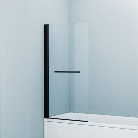 Шторка на ванну IDDIS Slide, черный ал. проф., 75х145, SLI5BS7i90