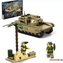 Конструктор танк Абрамс M1A2 Lego creator реплика 325 деталей