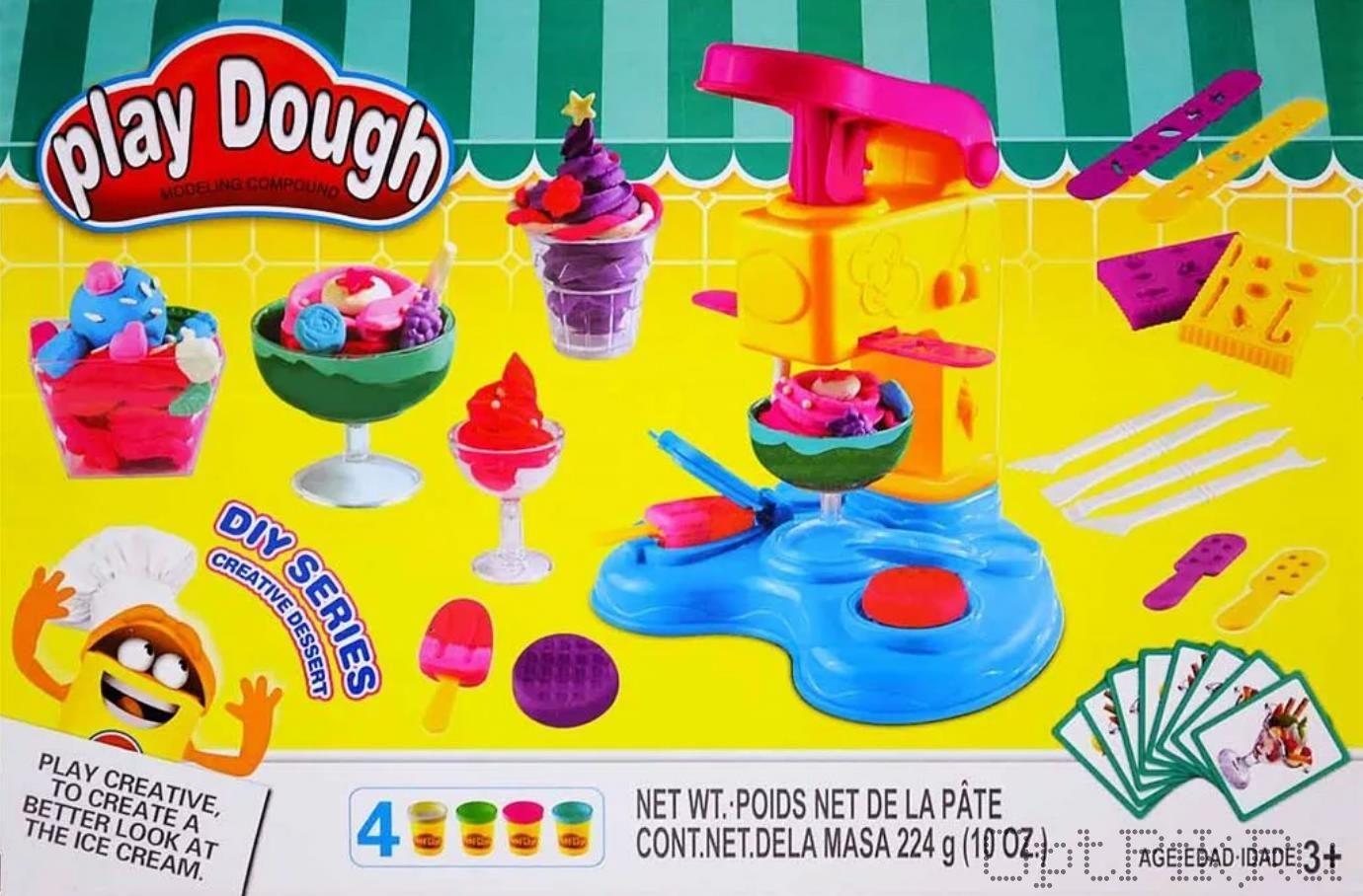 Масса для лепки Play-Doh Фабрика мороженого