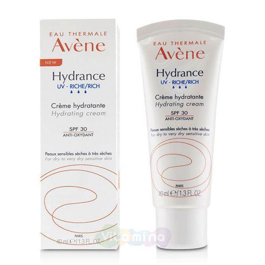 Avene Hydrance UV-Riche Creme Крем насыщенный SPF30 Гидранс UV Риш