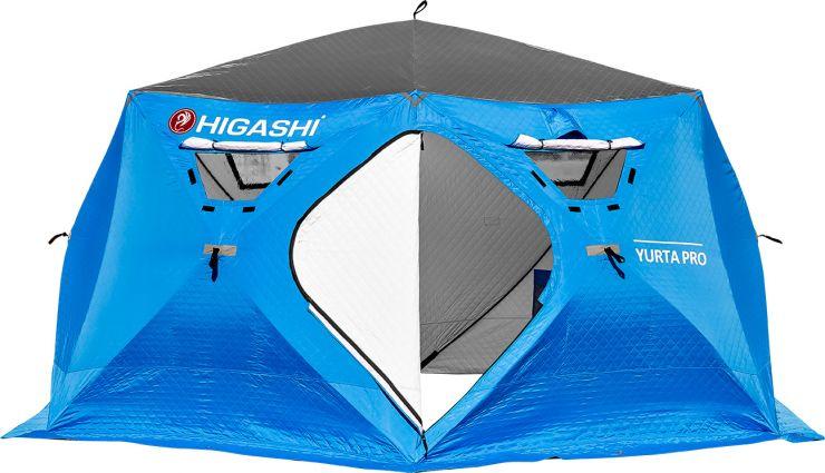Палатка зимняя HIGASHI YURTA утепленная PRO DC 460*460*210