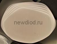 Управляемый светодиодный светильник KVAZAR 8130 72Вт-18м² 6/3/4000K пульт 500мм белый Oreol