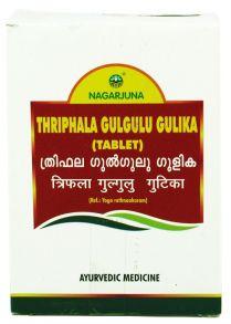 Thriphala gulgulu gulika (Трифала гуггул таблетки), 100 таб по 560мг