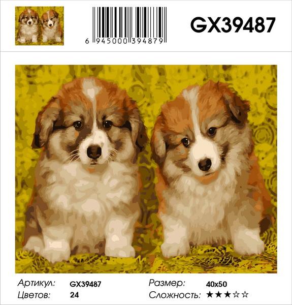 Картина по номерам на подрамнике GX39487