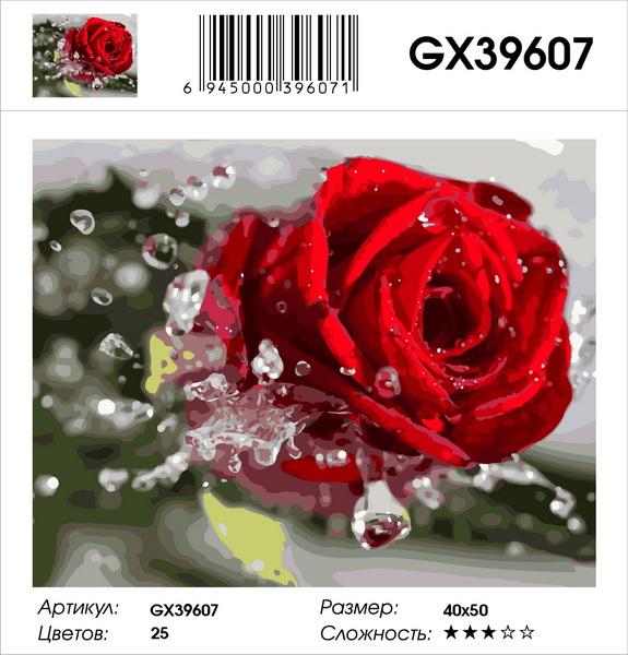 Картина по номерам на холсте GX39607