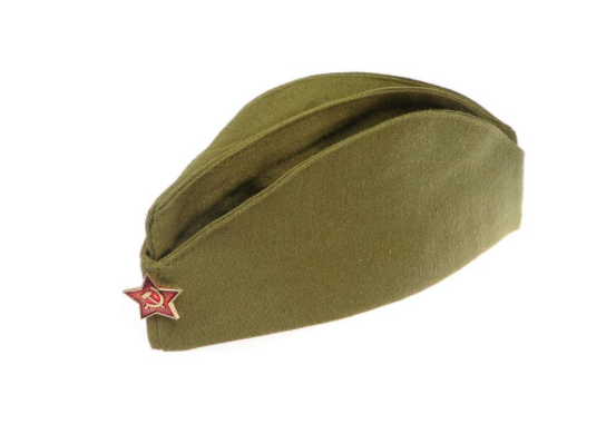 Для праздника Пилотка с подкладкой ПЧЕЛКА ПЛ-01