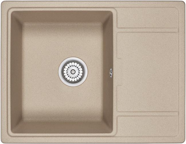 Врезная кухонная мойка Granula 6503 65х50см