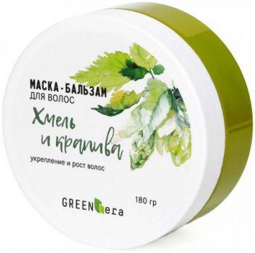 Green Era Маска для волос рост и укрепление Хмель и Крапива 180 мл