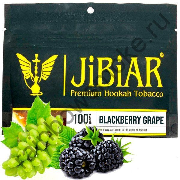 Jibiar 100 гр - Blackberry Grape (Ежевика Виноград)