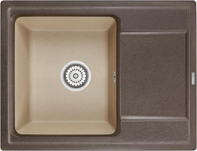 Врезная кухонная мойка Granula HI-65 65х50см