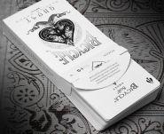 """Дизайнерские карты Bicycle Ghost колода """"Привидение"""" от компании Ellusionist"""