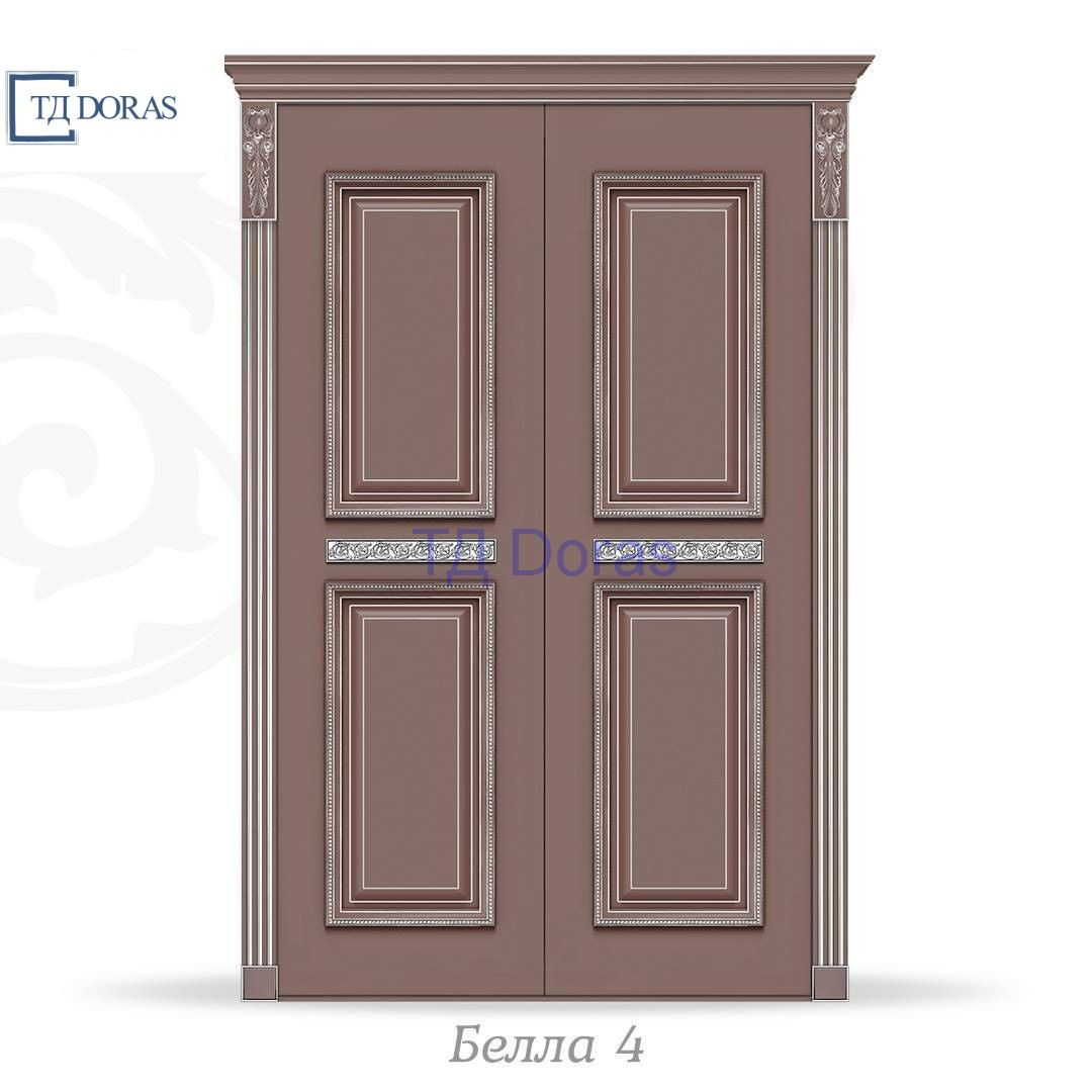 """Межкомнатная дверь """"Белла 4"""" эмаль цвет Олива,  глухая"""