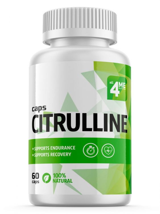 L-Citrulline-DL-Malate от 4me 60 капс