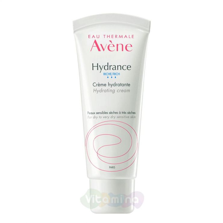 Avene Hydrance Riche Creme Крем увлажняющий насыщенный Гидранс Риш