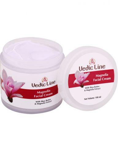 Крем для лица Магнолия | тонкой, чувствительной и молодой кожи | 100 мл | Vedic Line