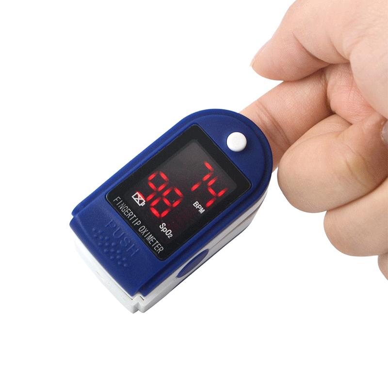 Пульсоксиметр на палец SKL JZK-302