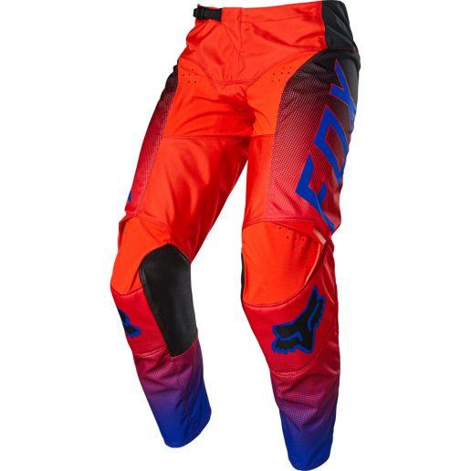 Fox 180 Oktiv Flo Red штаны для мотокросса
