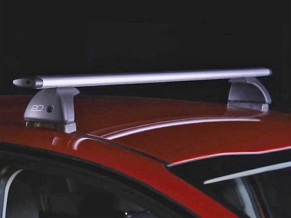 Багажник на крышу Mazda CX-5 2012-17, Евродеталь, крыловидные дуги