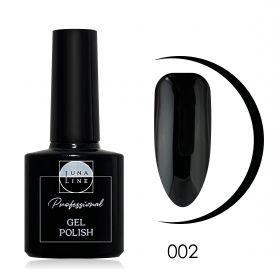 Гель-лак Lunaline 002 — черная ночь